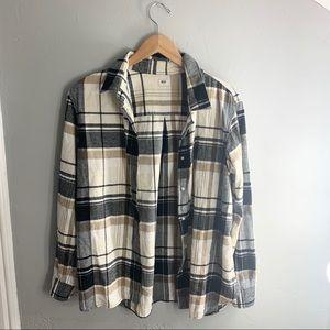Uniqlo Plaid Button Down Shirt